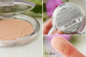ALITTLEB-BLOG-BEAUTE-MES-ESSENTIELS-MAQUILLAGE-A-PETITS-PRIX-POUDRE-COMPACT-MATTIFYING-COMPACT-POWDER-ESSENCE-PACKAGING-SWATCH
