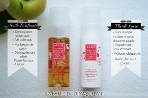 ALITTLEB_BLOG_BEAUTE_AU_LAIT_A_LHUILE_BATTLE_A_LHEURE_DU_DEMAQUILLAGE_FLUIDE_LACTE_DEMAQUILLANT_AKANE_HUILE_PURIFIANTE_BATTLE